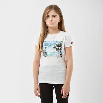 New Regatta Kids Bosley Graphic Adventure T-Shirt White