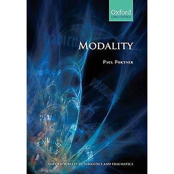 Modality Paperback by Portner & Paul
