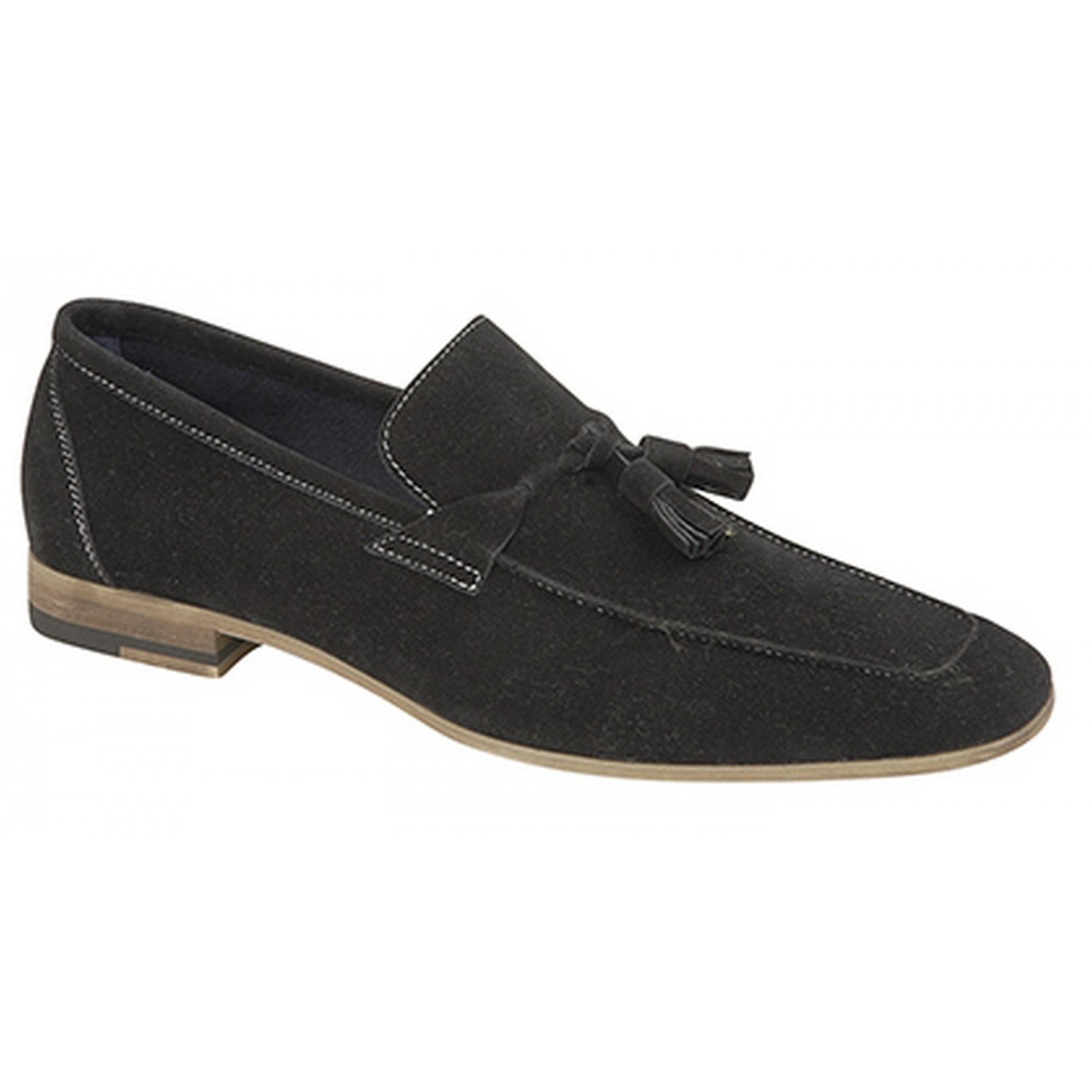 Route 21 Mens Tassle Trimmed Apron Casual Shoes