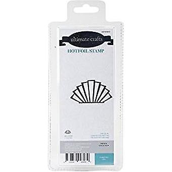 Ultimate Crafts The Ritz Collection Classy Fan Hotfoil Stamp