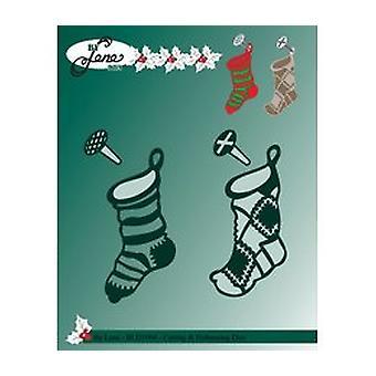 By Lene Metal Dies Christmas Socks