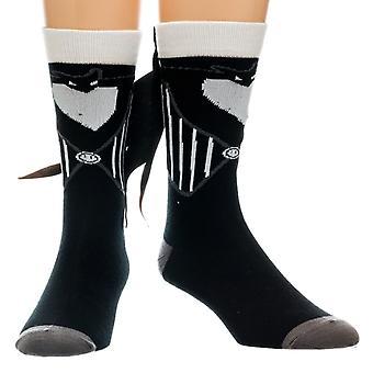 Alptraum Vor Weihnachts-Crew Socken mit Suit Tuxtails-ONE SIZE