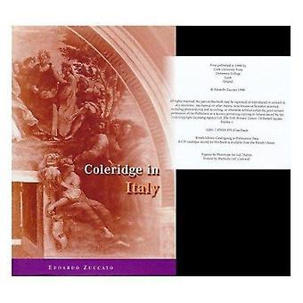 Coleridge in Italy by Edoardo Zuccato - 9781859180761 Book