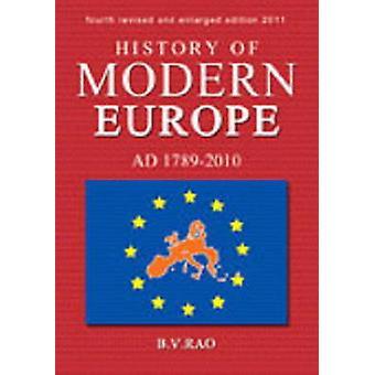 History of Modern Europe by B. V. Rao - 9788120761940 Book