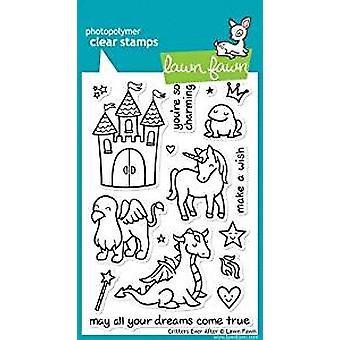 Prato Fawn francobolli chiari critters sempre dopo (LF382)