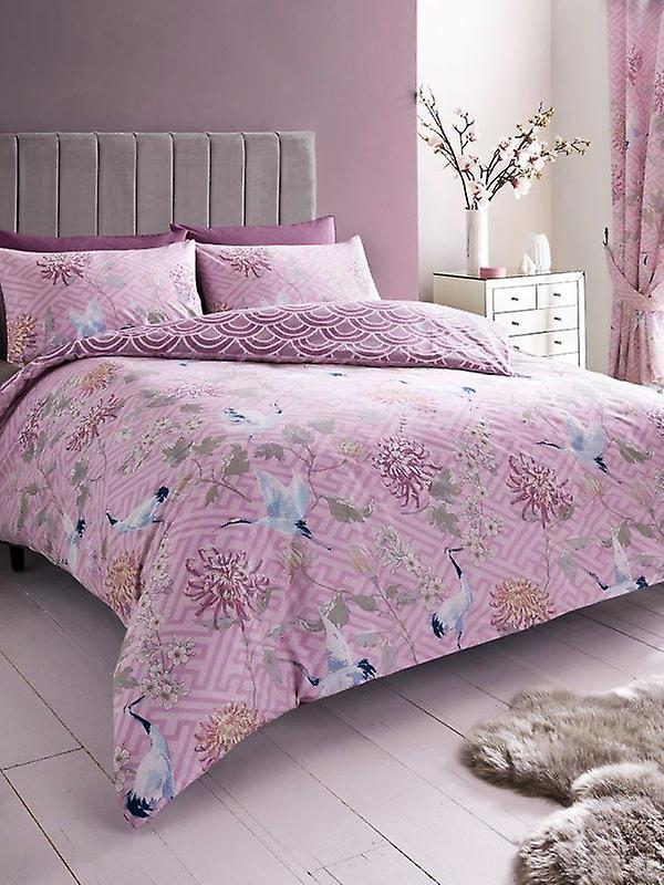 Jasmine Double Duvet Cover and Pillowcase Set