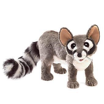 mano burattino - Folkmanis - Ringtail cat cat nuovo giocattoli morbido bambola peluche 3122