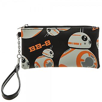 Envelope Wallet - Star Wars 7 - BB8 with Wristlet New gw39p9stw