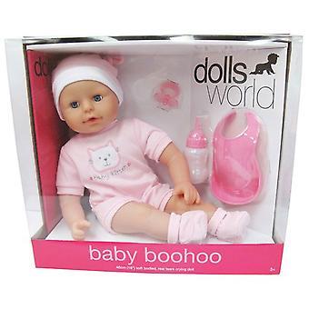 Muñecas Mundial Bebé BooHoo Muñeca Rosa