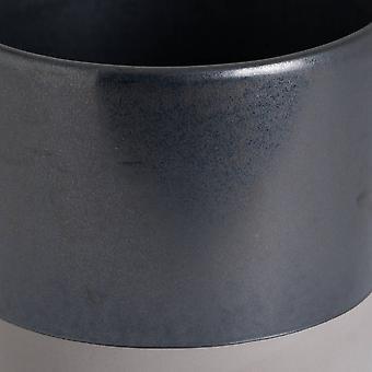 Plantador de cerámica metálica de colina interiores