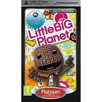 Lilla Big Planet Platinum (PSP)-fabriken förseglad