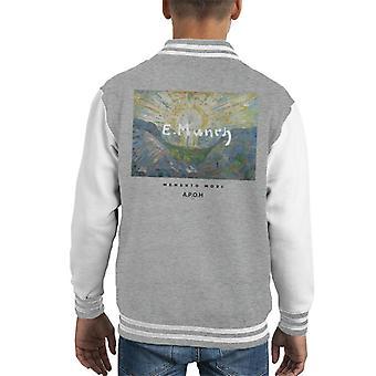 A.P.O.H Munch Momento Mori Kid's Varsity Jacket