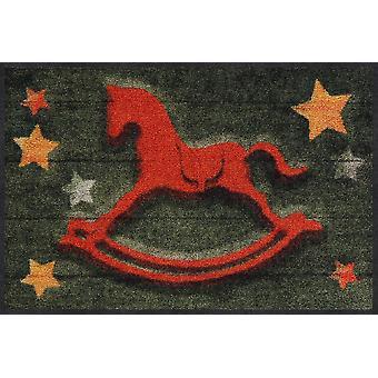 Salonloewe Doormat Rocking Horse 50 x 75 cm pestävä lika matto