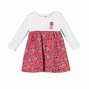Anglia RFU Rugby Baby/Toddler Girls Rose Print Sukienka | 2019/20