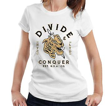 Divide & Conquer NYC Tiger Dagger Women's T-Shirt