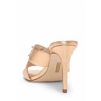 Louise Et Cie Womens LO-Hannety Leather Open Toe D-orsay Pumps