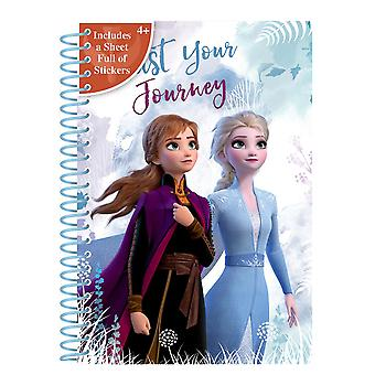 Disney Frozen 2 Trust Your Journey Softcover A5 Notebook
