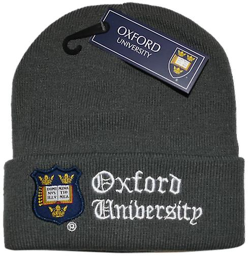 Oub101 licensed unisex oxford university™ ski hat charcoal