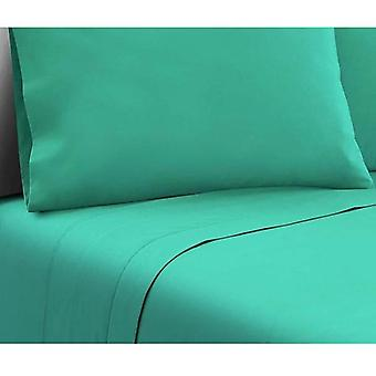 4 Piece Microfibre Sheet Set – Aqua