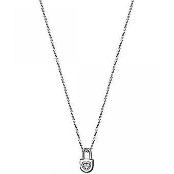 Collar Esprit con pequeño colgante con zirconia cúbica ESNL93473A420