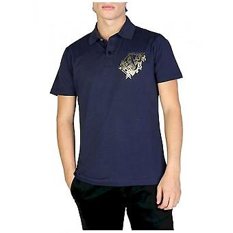 Versace Jeans - Bekleidung - Polo - B3GSB7P0_36610_238 - Herren - navy - 48