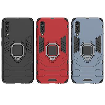 Kit Me Out Case para Samsung Galaxy A50 Dual Layer Drop Protective Cover with Shock-Absorción y Shockproof Drop Protection - Durable Heavy Duty Hard Case Cover with 360 Ring Kickstand