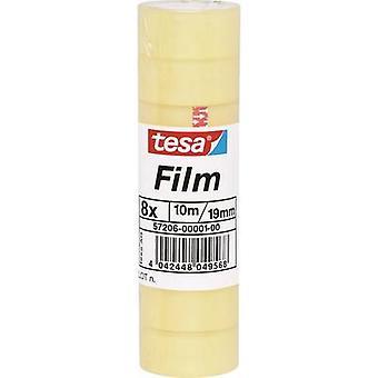 tesa 57206-01-00 Tesa film tesa® Transparent (L x W) 10 m x 19 mm 8 stk.
