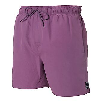 Rip Curl Volley Fly Out 16 Elasticated Boardshorts in Plum