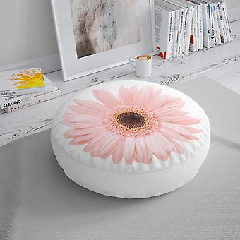 Meesoz Floor Cushion - Pink Gerbera