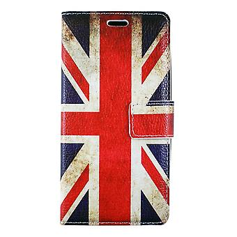 Huawei P8 Lite Case (2015) Uk Grained Flag Pattern - Crazy Kase