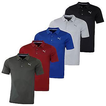 Puma Golf mens Evoknit Dassler korte mouw DryCELL Polo shirt