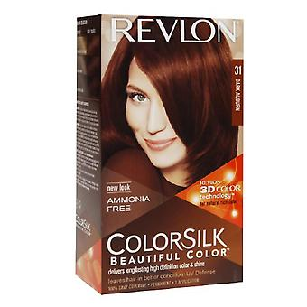Revlon colorsilk beautiful color, dark auburn 31, 1 ea
