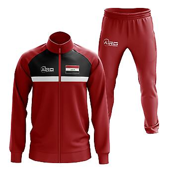 Iraq Concept Football Tracksuit (Red)