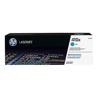 HP 410X High Yield Cyan Original Laserjet Cartridge