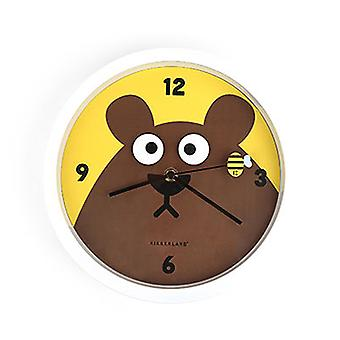 Googly Bear Wall Clock - Rotating Eyes
