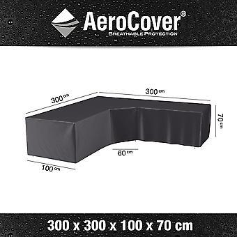 Plage 7 - France Aerocover Lounge Set Cover Angle L-Shape 300x300x100x70 cm Accessoires