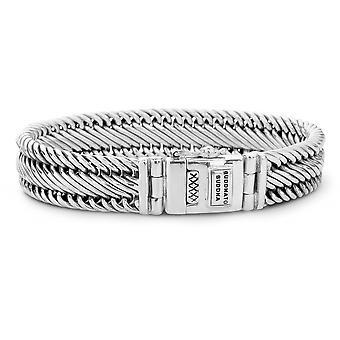Buddha To Buddha 151 F Edwin Small Silver Size F Bracelet
