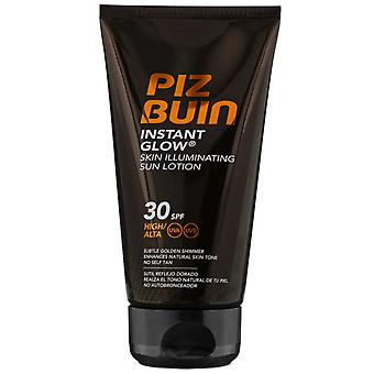 Piz Buin Instant Glow Skin Illuminating Sun Lotion SPF30 150ml