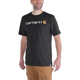 Carhartt Core para hombre Logo gráfico algodón manga corta camiseta
