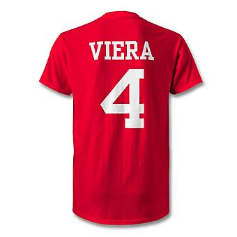 Patrick Viera Arsenal Legend Hero T-Shirt