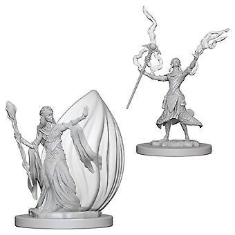D&D Nolzur's Marvelous Unpainted Miniatures Elf Female Wizard (Pack of 6)