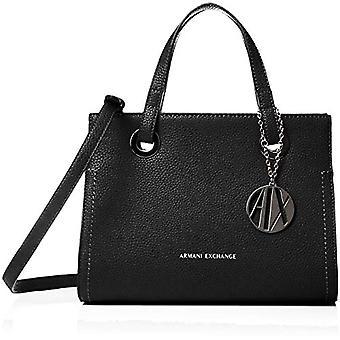 ARMANI EXCHANGE Small Shopping Bag - Black Women's Tote Bags (Black) 20x13x26 cm (B x H T)