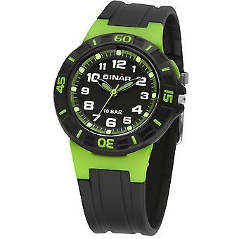 SINAR Youth Watch Kids Unisex Wristwatch Analog Quartz Rubber XB-20-3