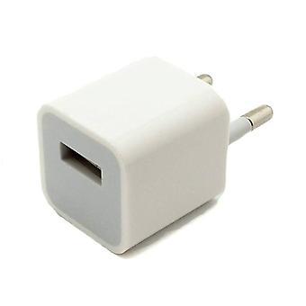 Στοιχεία πιστοποιημένα® A1265 2PIN φορτιστή τοίχου ΕΕ 5V-1A φορτιστής AC USB λευκό σπίτι