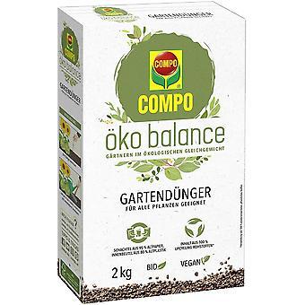 COMPO eco balance garden fertilizer, 2 kg