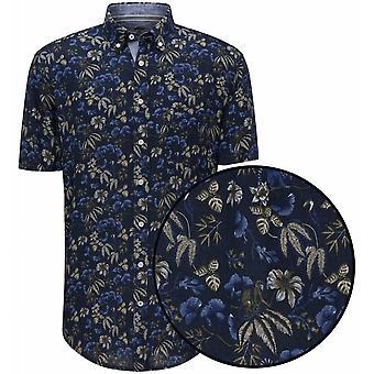 FYNCH HATTON Fynch Hatton Floral Linen Shirt