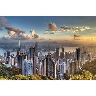 Hong Kong, Maxi Poster - Victoria Peak