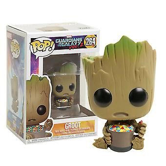 Guardians of the Galaxy Vol. 2 Groot w/ Candy Bowl US Pop!