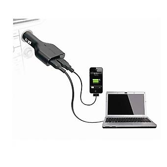 Targus Apd046Au Laptop Car Charger With Usb Fast Charger