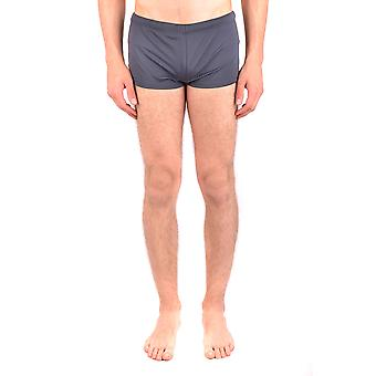 Emporio Armani Ezbc113019 Men's Grey Nylon Trunks